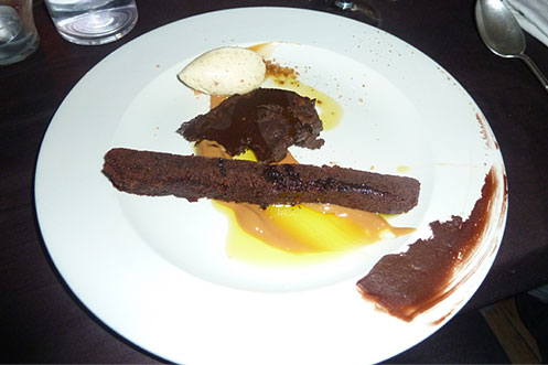 Saltoun Supper Club dessert