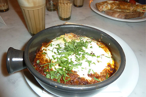 Dishoom Bombay breakfast