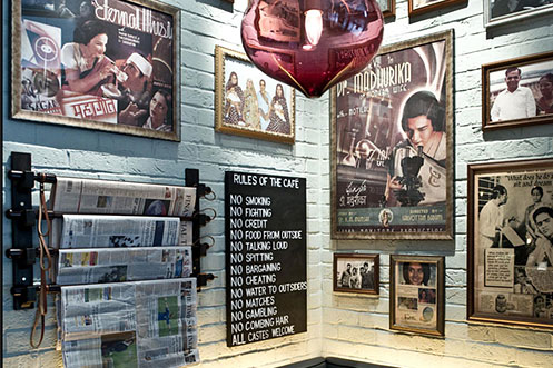 Dishoom Indian posters