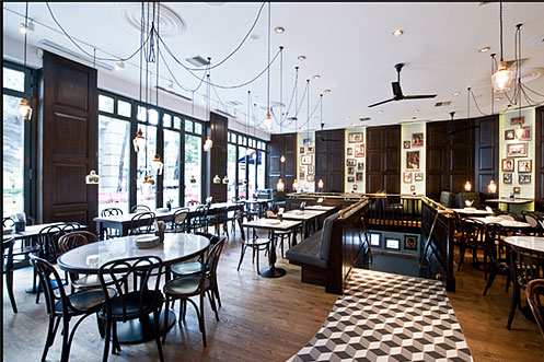 Dishoom interior