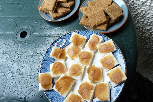 Sarah Nelson's Grasmere gingerbread and rum butter