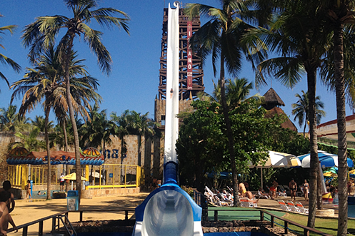 Beachpark Insano, world's highest waterslide