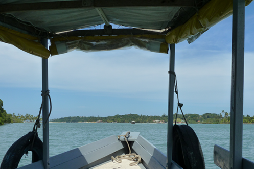Boipeba getting there by slow boat