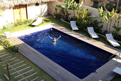 Dona Flor pousada Canoa Quebrada swimming-pool
