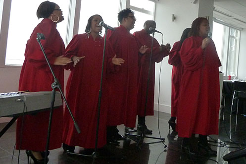 London Community Gospel Choir Altitude 360 gospel brunch