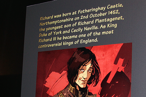 Richard III The Making of the Myth Leicester exhibition