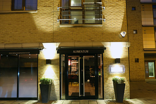 Alimentum Cambridge restaurant entrance