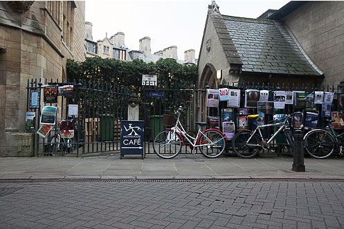 Michaelhouse Cafe Cambridge bicycles