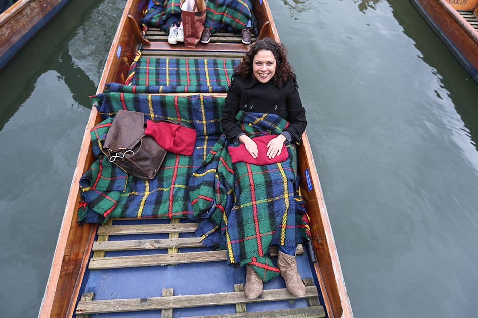 Cambridge punting with Scudamore