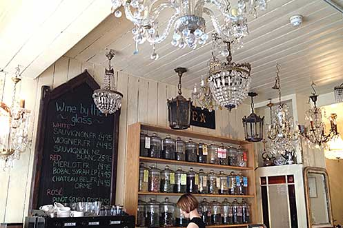 Le Chandelier East Dulwich London tea
