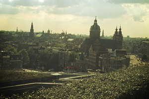 Amsterdam's best views, the Skylounge