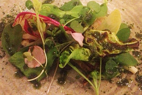 The salad of salads at the French by Simon Rogan, Manchester