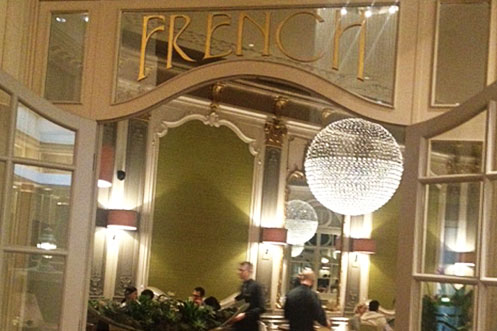 The French restaurant at The Midland Hotel