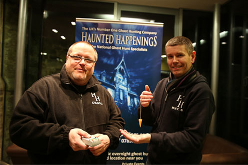 Haunted Happenings ghost tours