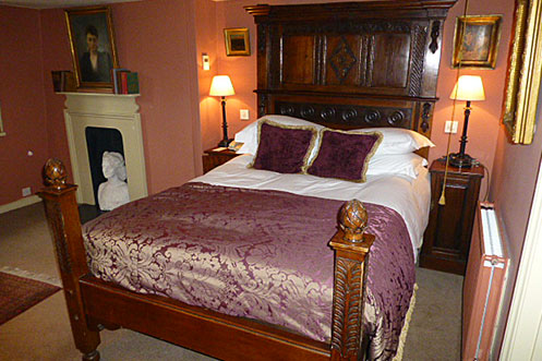 The Rookery Hotel bedroom