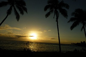 Best sunset in Kauai - the Beach House