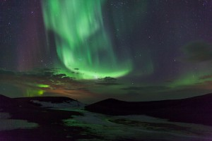 Northern Lights, in North East Iceland