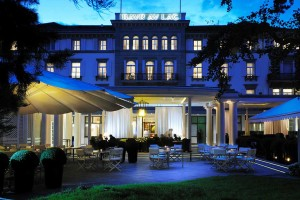 Baur au Lac, a baby friendly Zurich hidden gem