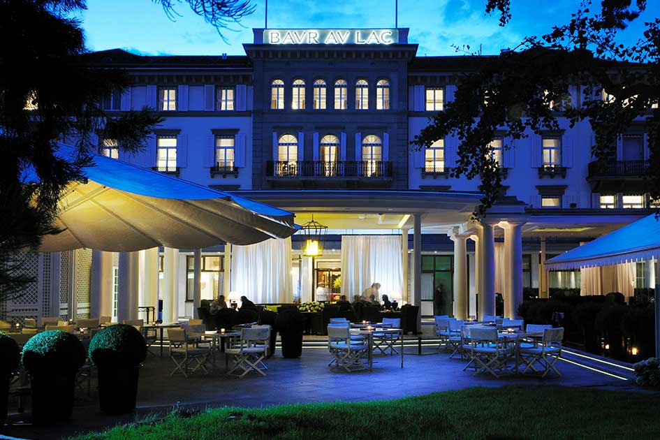 Baur au Lac luxury baby friendly hotel Zurich