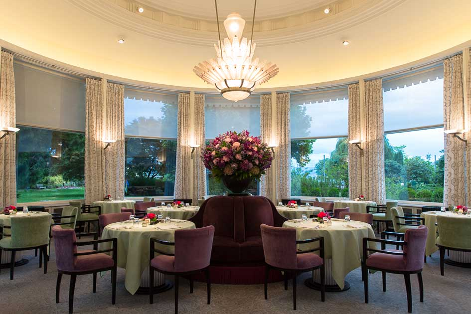 Michelin star Pavillon restaurant